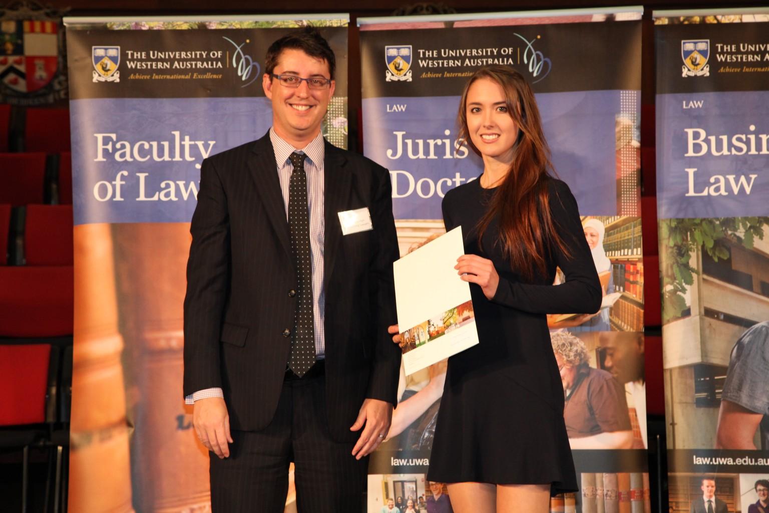 Uwa law school prizes