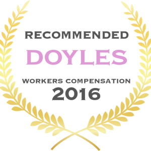 Workers Compensation - Recommended 2016