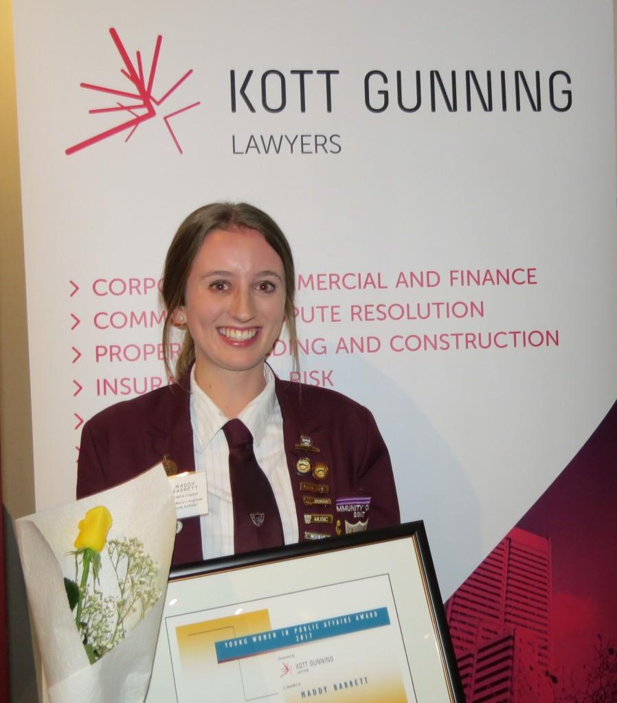 Zonta Young Women in Public Affairs Award